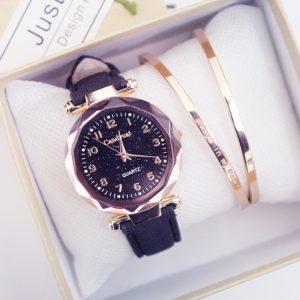 Dámské stylové hodinky s náramky Skyler