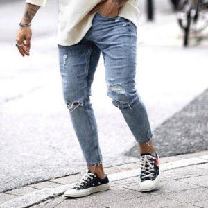 Pánské trendy trhané džíny Maldonado - kolekce 2020