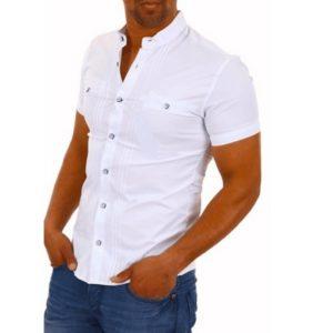Pánská ležérní slim fit košile
