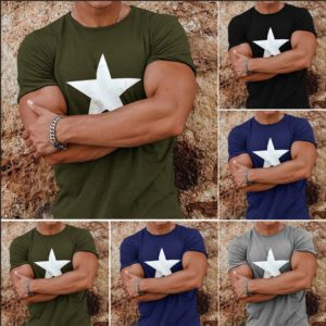 Pánské ležérní triko s potiskem Star