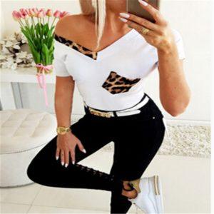 Dámské leopardí tričko Emely