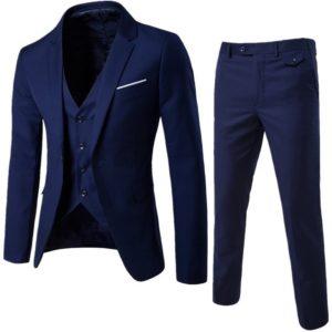 Pánský módní set | Sako + vesta + kalhoty