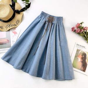 Dámská džínová kolová sukně Adelaide