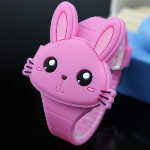 Dětské roztomilé digitální hodinky Rabbit