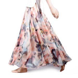 Dámská vzdušná letní dlouhá sukně