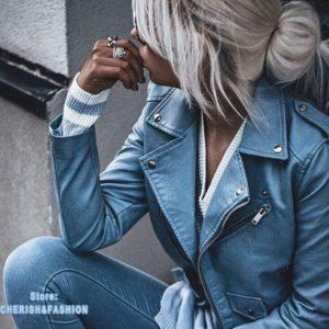 Dámská luxusní kožená bunda Sandra