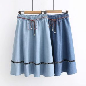 Dámská džínová retro sukně Kylie