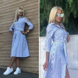 Dámské letní košilové šaty Lucy