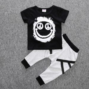 Dětská stylová souprava Bird – kalhoty, triko