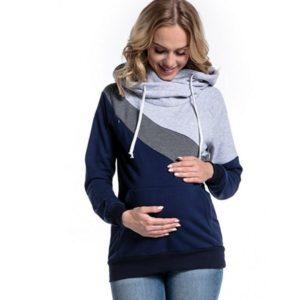 Dámská moderní těhotenská mikina Lesley