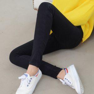 Dámské stylové strečové kalhoty
