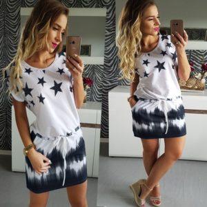 Dámské šaty s hvězdami Aisha