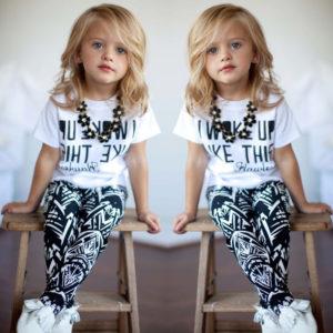 Dívčí volnočasový set Peggy - legíny, triko