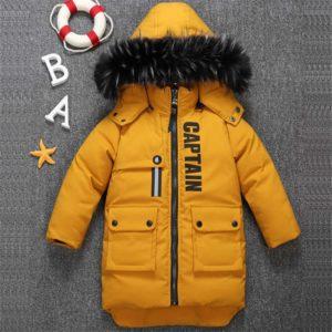 Dětská bunda s kapucí