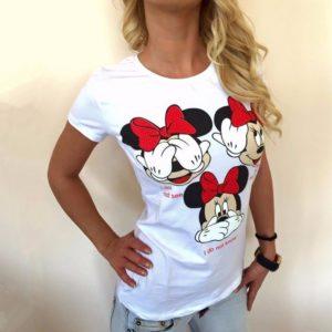 Dámské stylové tričko Funny Mouse