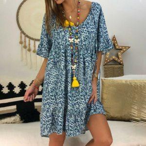 Dámské letní krátké šaty Mendy