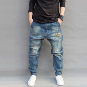 Pánské stylové džíny harémky Hadley | kolekce 2020