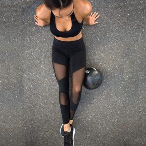 Dámské sexy legíny na fitness
