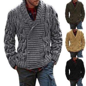 Pánský módní teplý svetr Gentry - kolekce 2020