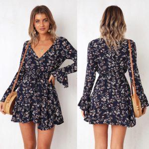 Dámské letní květinové šaty Parker