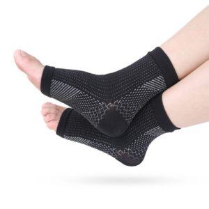 Kompresní prodyšný návlek pro zpevnění svalu a kloubu