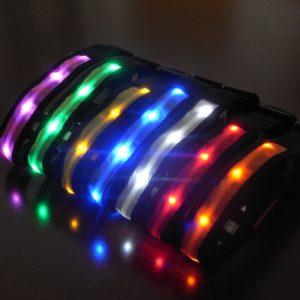 Svítící LED obojek Ware