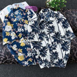 Pánská stylová košile s krátkým rukávem Hawaii