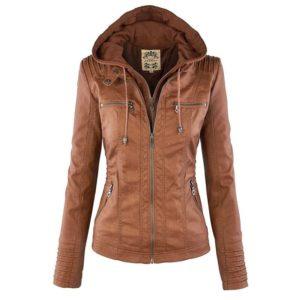Dámská luxusní kožená bunda Ellena