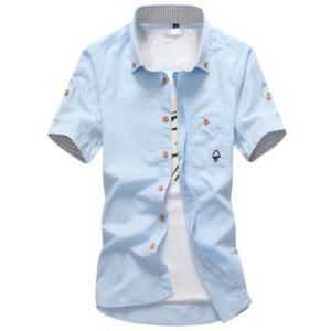 Pánská luxusní košile s krátkým rukávem Cline