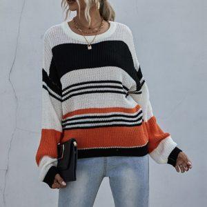 Dámský moderní podzimní svetr Aya