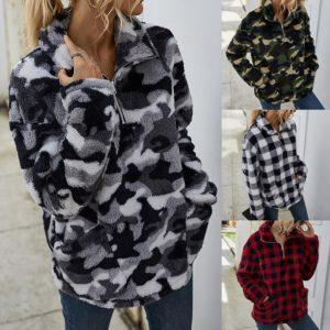Dámský luxusní podzimní svetr Lauren