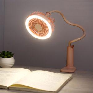Noční LED lampička s větrakem Lori