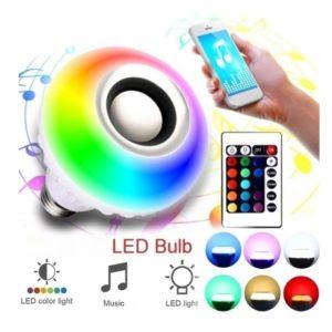 Bluetooth LED žárovka Alexa