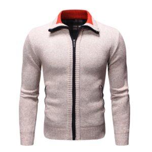 Pánský luxusní svetr na zip Blake