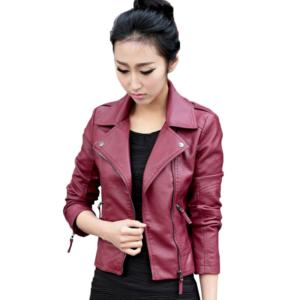 Dámská stylová kožená bunda Alexis