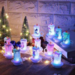 Vánoční dekorační LED svíčka Darsh
