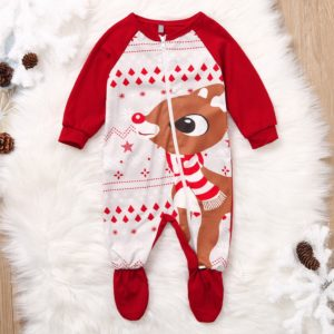 Dětský vánoční overal Deer