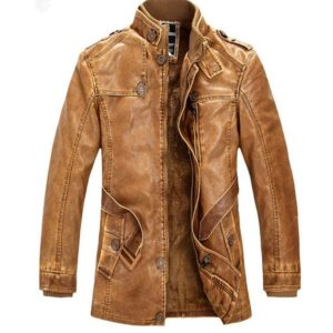 Pánská luxusní kožená bunda Lozano