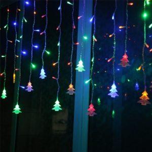 Vánoční LED osvětlení do okna Dale
