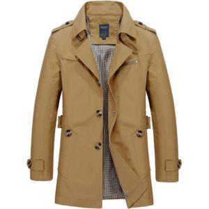 Pánský trendy kabát Peters