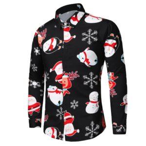 Pánská stylová vánoční košile Muriel