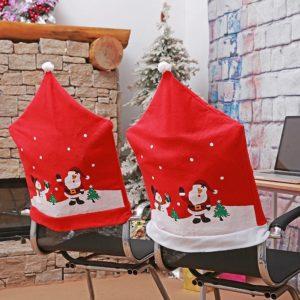 Vánoční potahy na židle Etta