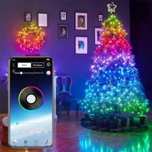 Vánoční USB LED dekorace ovládaná aplikací