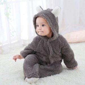 Zimní kojenecký overal pro nejmenší