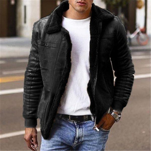 Pánská bunda s kožíškem Tom