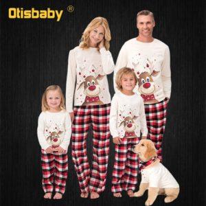 Vánoční rodinné pyžamo Kareem