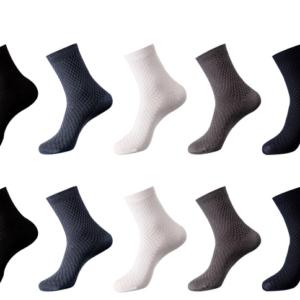 Pánske bambusové ponožky - 5 párov