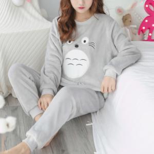 Dámské teplé pyžamo Aimee
