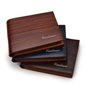 Pánská luxusní kožená peněženka
