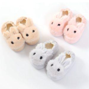 Dětské domácí boty ve tvaru králíka